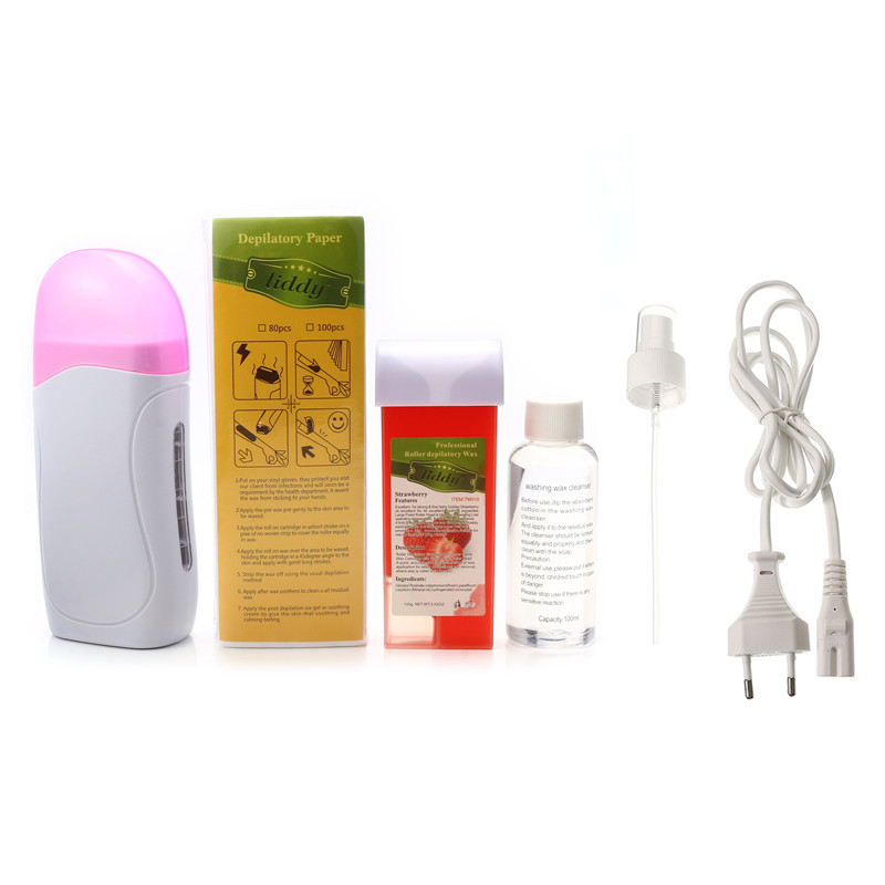 Electric Wax Hair Removal Heater Waxing Depilator Epilator