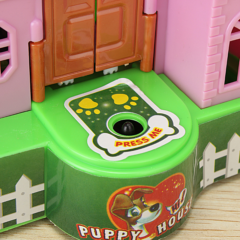 Creative Piggy Bank Stealing Coins Dogs Puppy House Saving Bank