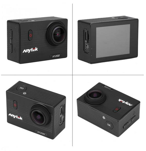 Anytek AT200 2.0 Inch Full HD 1080P Wifi Sport Action Camera DV Car DVR Waterproof Camcorder