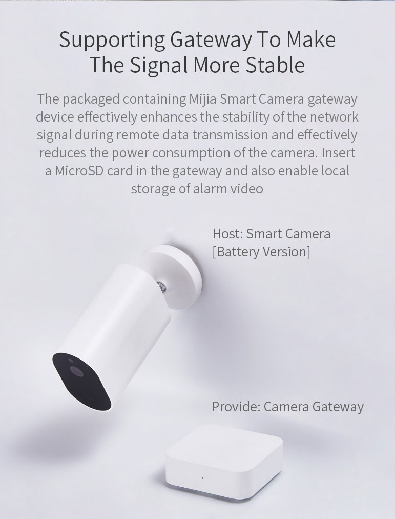 [Battery Version] XIAOMI Mijia CMSXJ11A 1080P Smart Wireless APP Control IP Camera Waterproof Outdoor Camera AI Moving Detection Infrared Nighte Version Baby Monitors