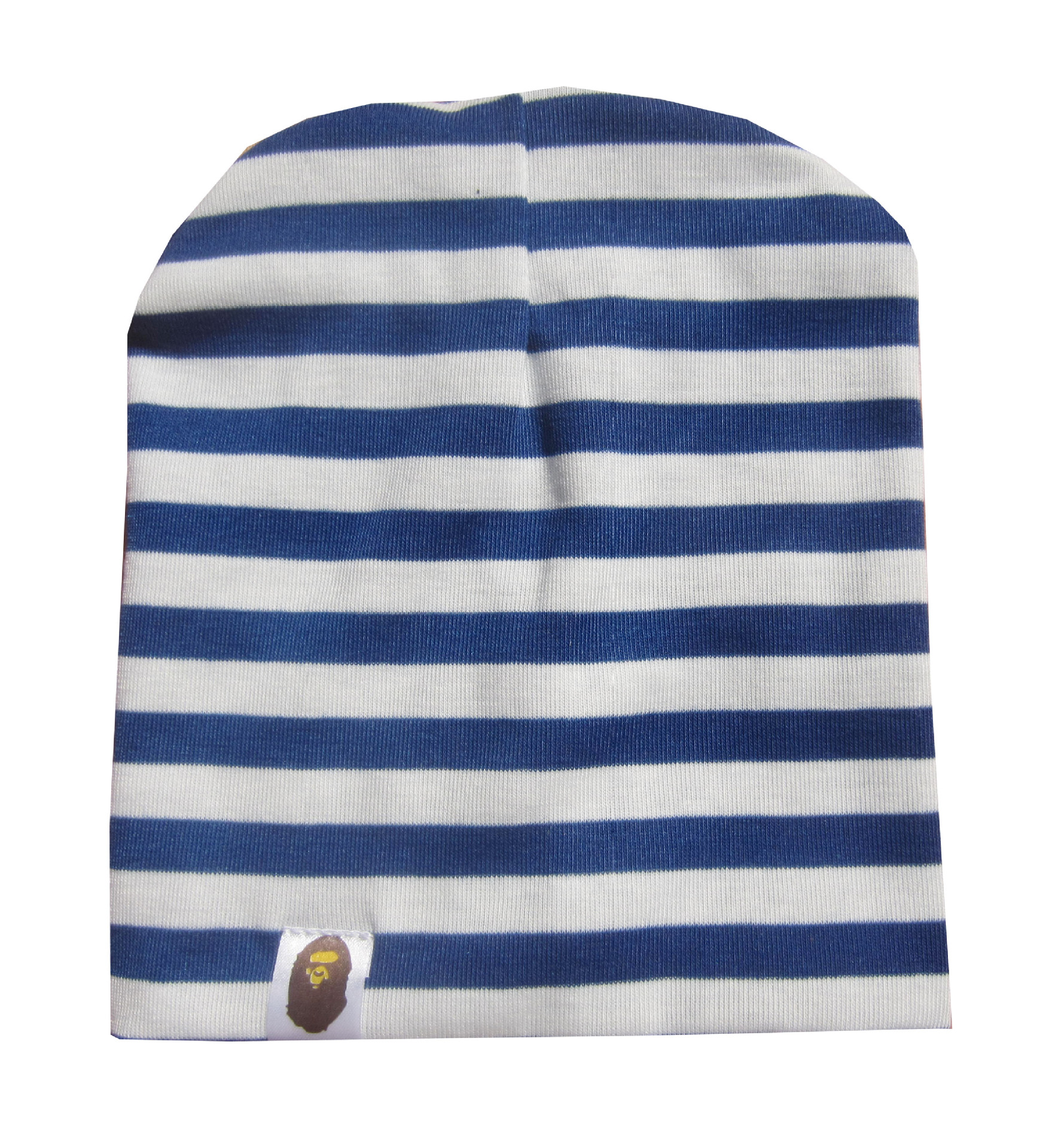 Baby Cute Stripe Cotton Hat Crochet Beanie Cap Boy Girls Infant Toddler Kids
