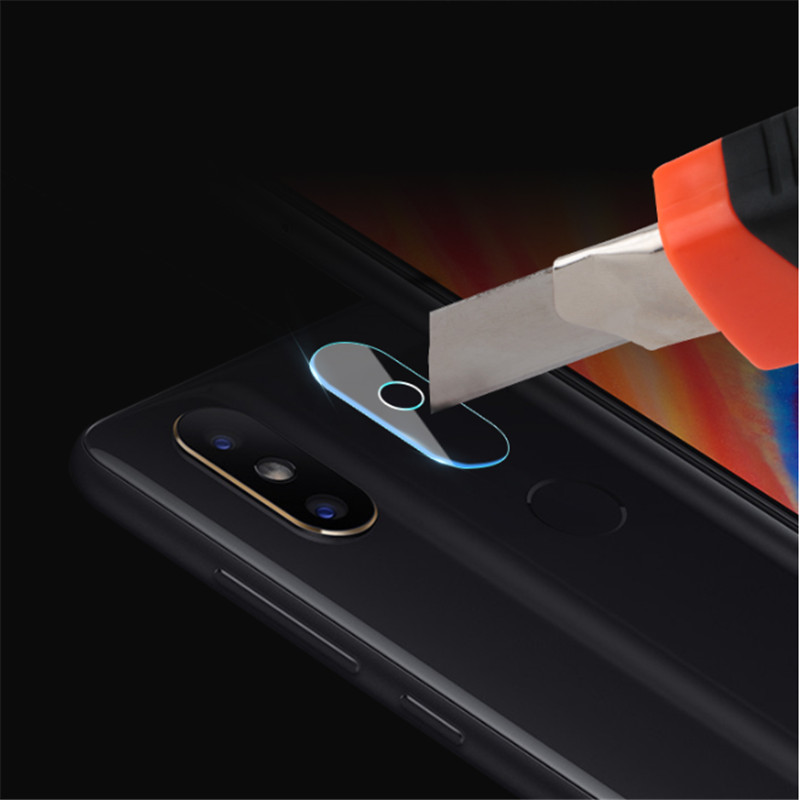 Image of 2 PCS Camera Lens Protector Soft Tempered Glass Rear Camera Phone Lens for Xiaomi Redmi S2