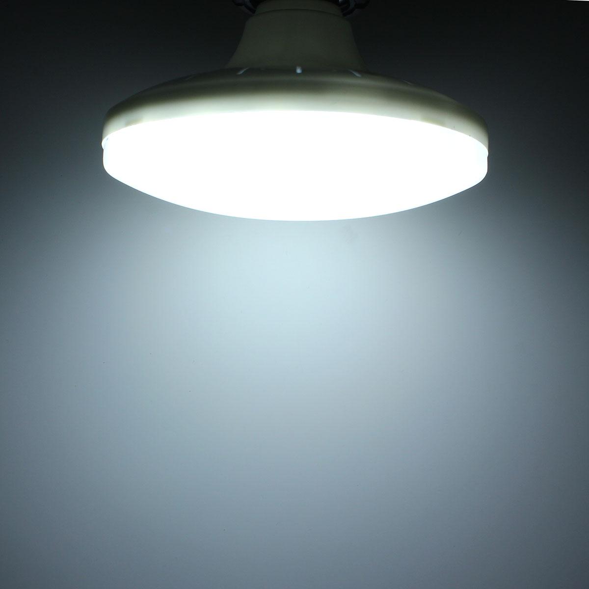 E27 14W 36 SMD 5730 LED Cool White Saucer Globe Light Lamp Bulb AC220V