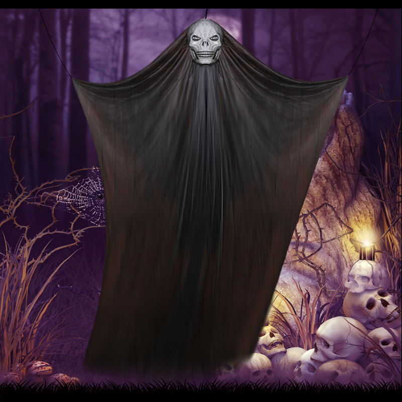 Halloween Hanging Creepy Ghost Curtain Party Decoration Display Prop