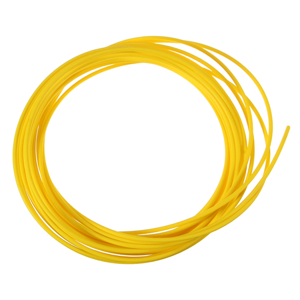 2pc Yellow 5m 1.75mm Low Melting Point Non-toxic Tasteless PCL Filament For 3D Printing Pen