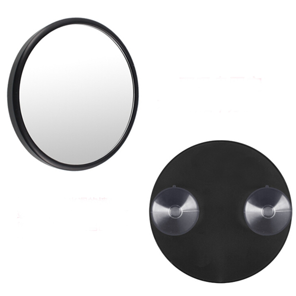 10x Magnifying Mirror Bathroom Suction Cups Compact Glass Cosmetics Portable Travel Makeup Tool