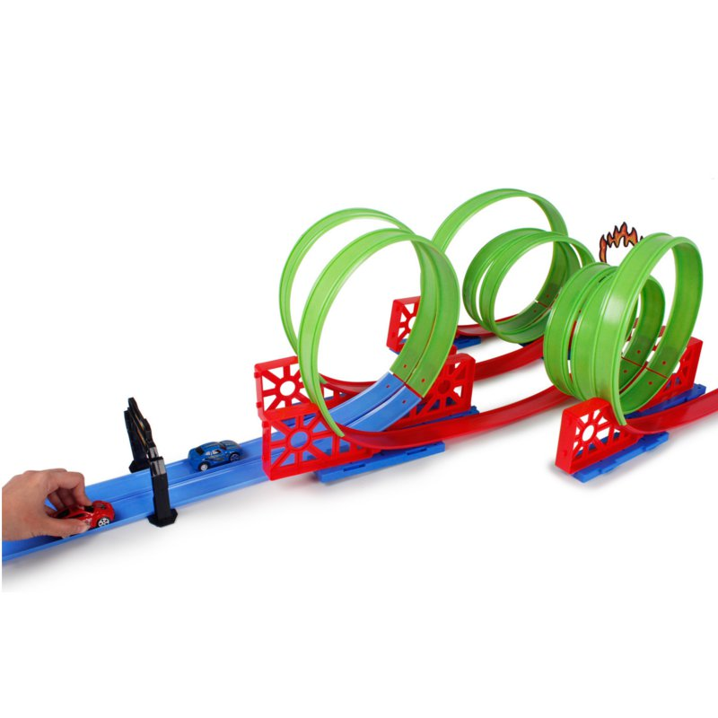 DIY Magic Tracks Bending Several Race Track Kids Toys Gifts