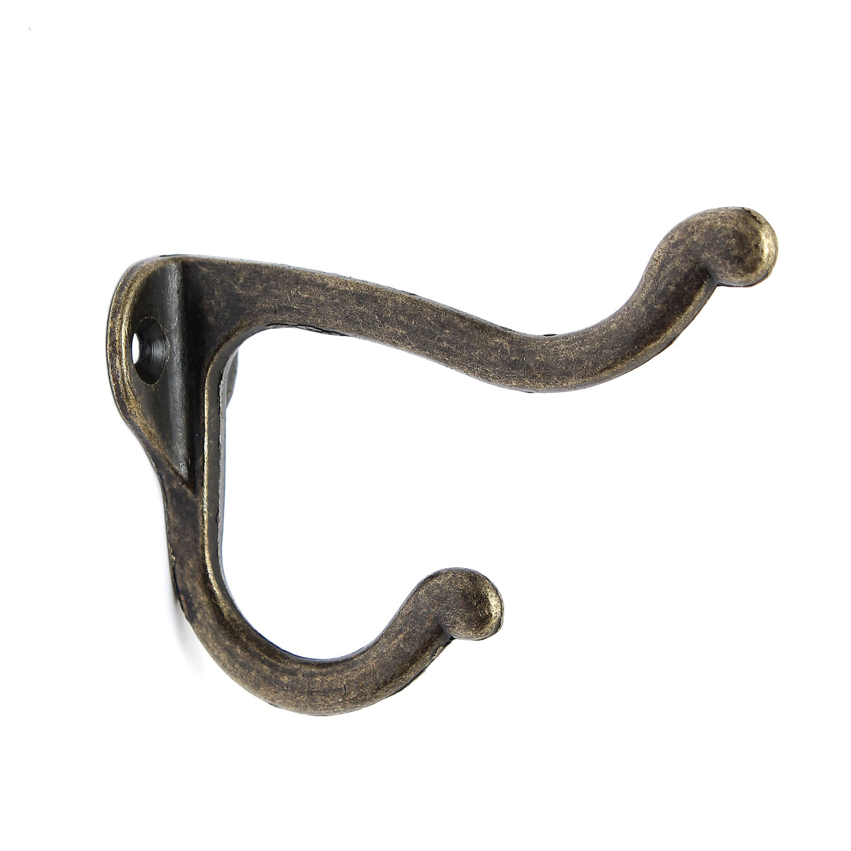10pcs Vintage Antique Hat Coat Clothes Towel Holder Kitchen Bath Wall Door Hanger Hooks With Screws
