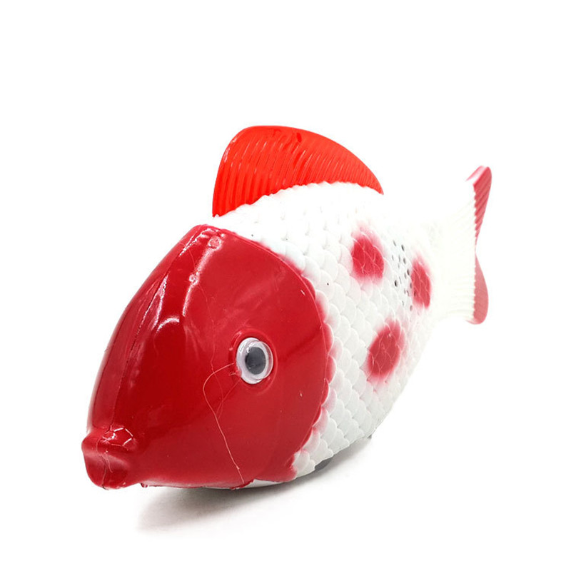 Funny Simulation Electric Running Fish With Music Toys For Pets Playing Gift