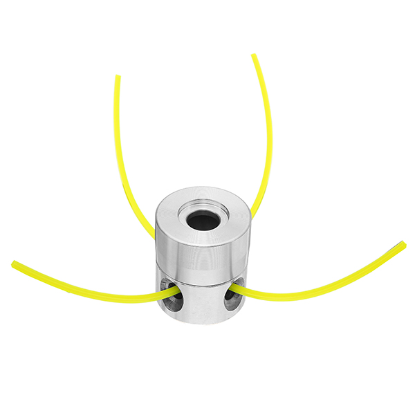Aluminum Grass Trimmer Head with 4 Lines Brush Cutter Head Lawn Mower Accessories for Strimmer