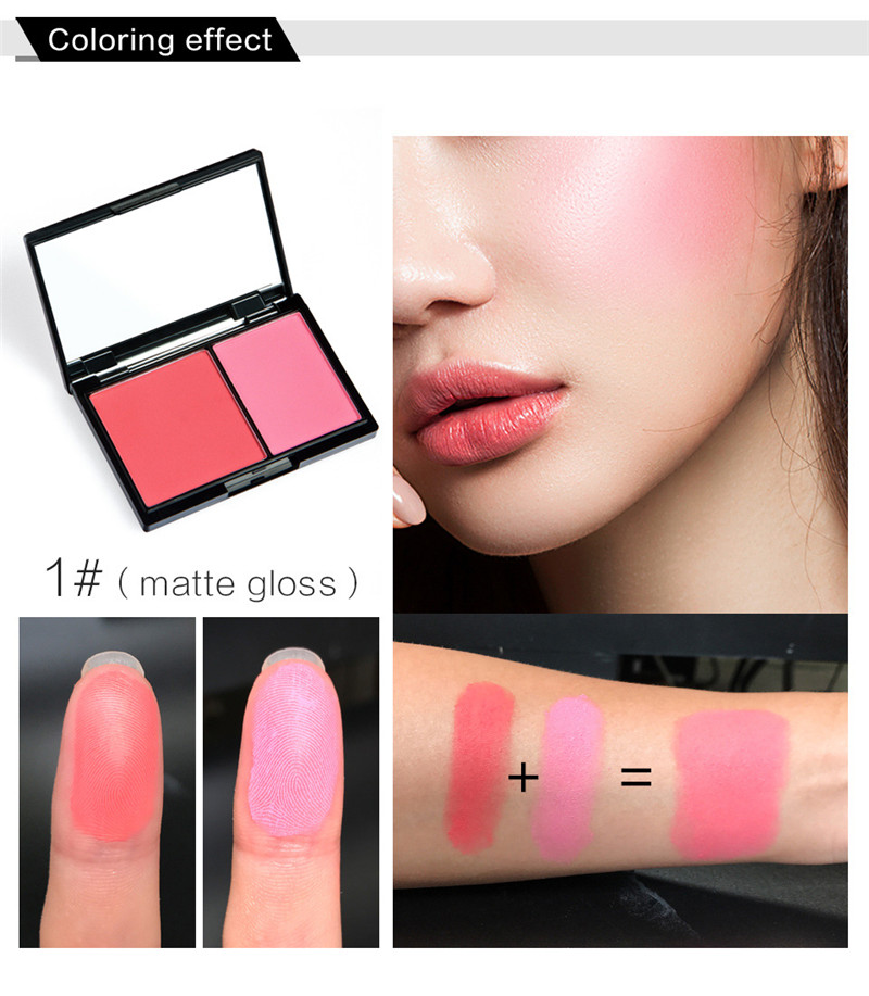 Face Palette Makeup Pink Blusher