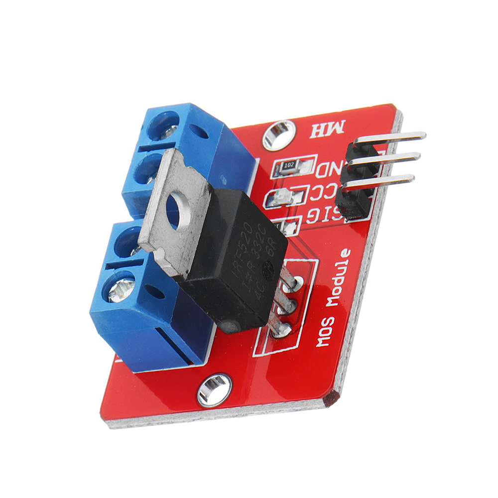 0-24V Top Mosfet Button IRF520 MOS Driver Module For Ar