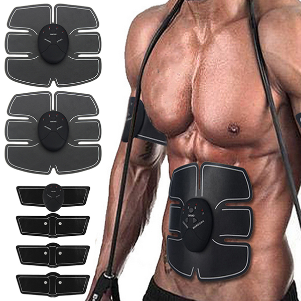 Купить со скидкой KALOAD Abdomen/Arm Muscle Stimulator EMS Training Electrical Body Shape Trainer
