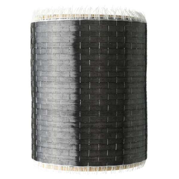 12K 200gsm 270×10cm Plain Weave Carbon Fiber Cloth Fabric