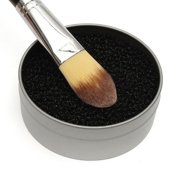 Makeup Brush Clean Sponge Cleaner Dry Powder Eye Shadow Blush Color Remover