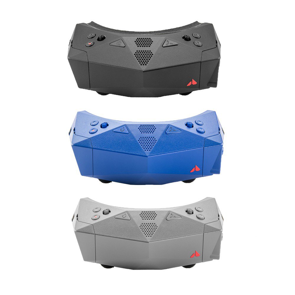 ORQA FPV.One OLED 1280x960 FOV 44 Degree FPV Goggles With DVR 2 Receiver Bays Head Tracker Built-in De-fogging Fan Without Battery For RC Racing Drone