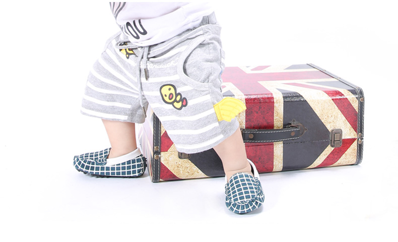 Children Shoes Kids Frosted Leather Boat Footwear Sneakers Suede Calfskin Girls Boys Slip on Loafers