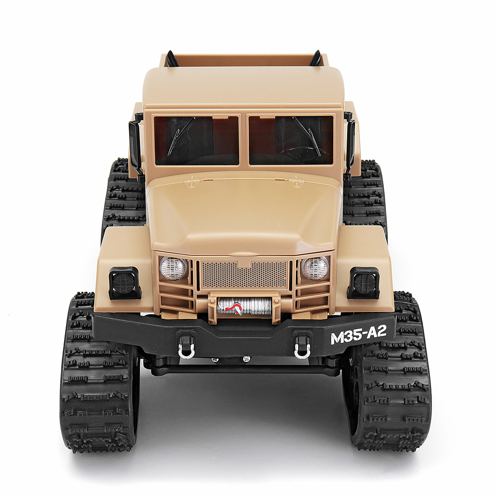 Fayee FY001B 1/16 2.4G 4WD Rc Car Brushed Off-road Truck Snow Tires With Front Light RTR Toy