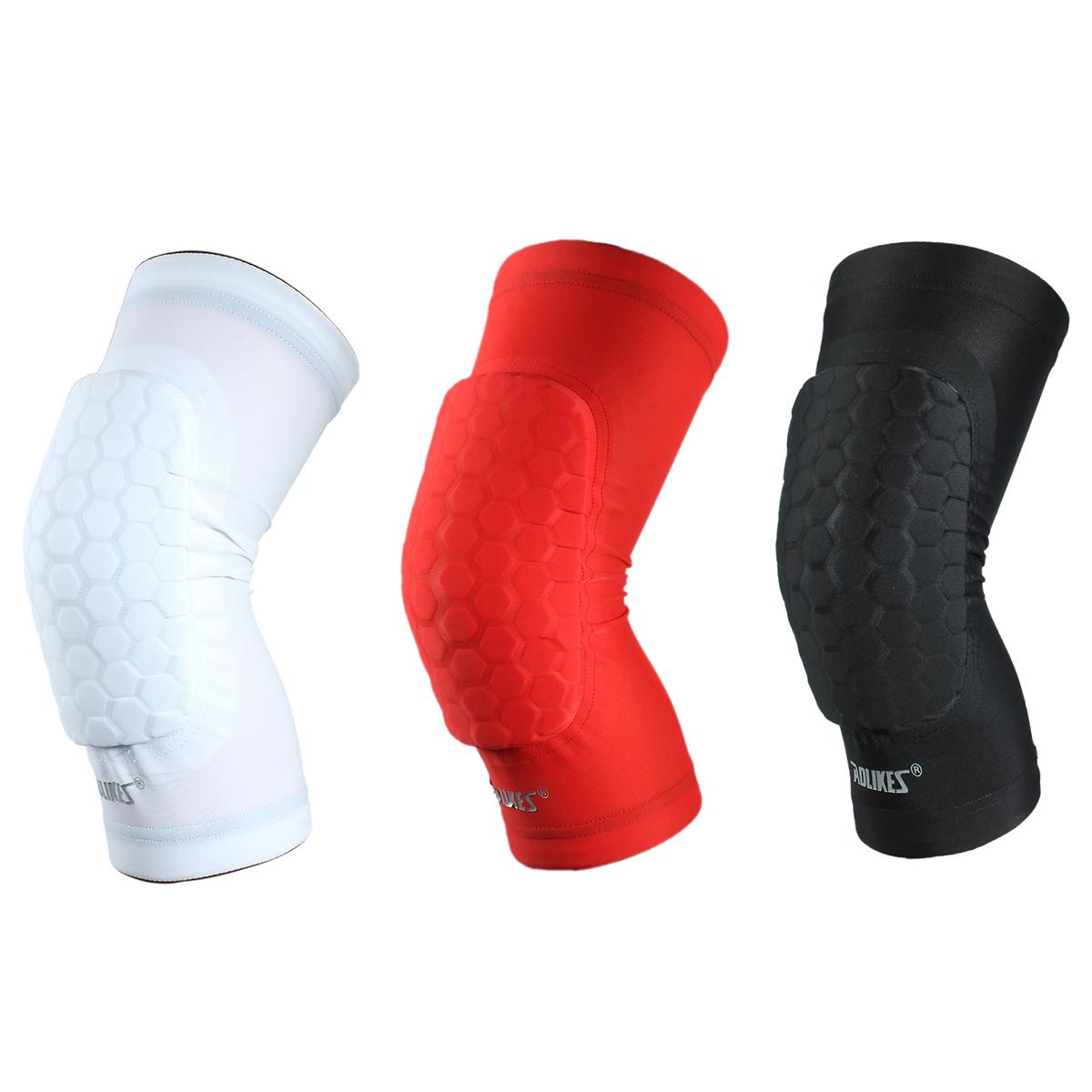 AOLIKES Hex Sponge Protective Knee Pads Basketball Leg