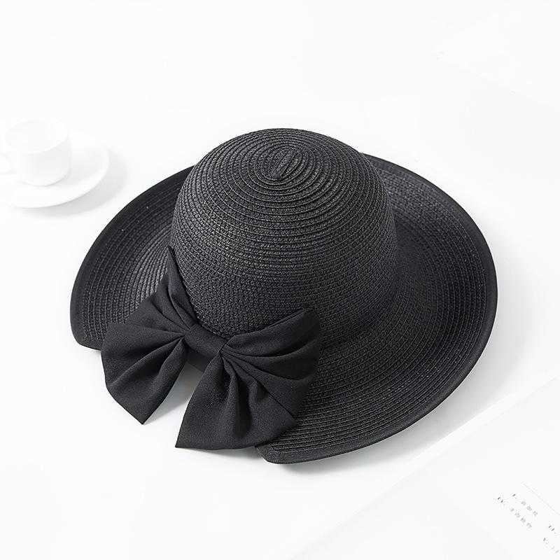 Women Folding Wide Brimmed Floppy Hat Vacation Beach Bucket