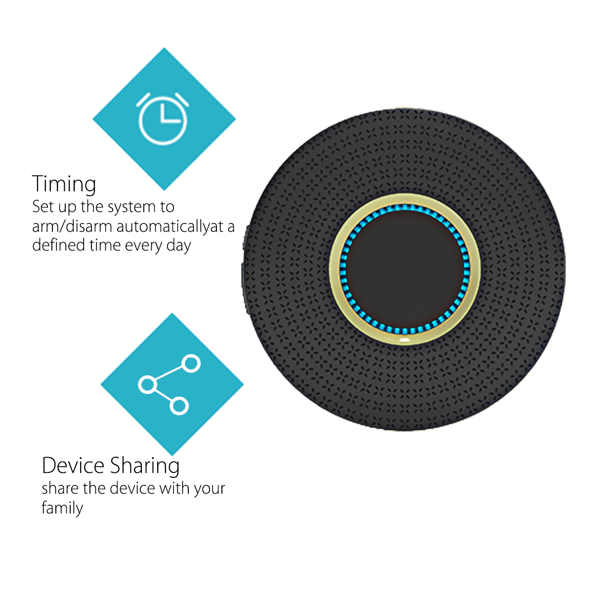 Smart WIFI Home Security Alarm System Safety Tool APP for Alexa/Echo/Google Home