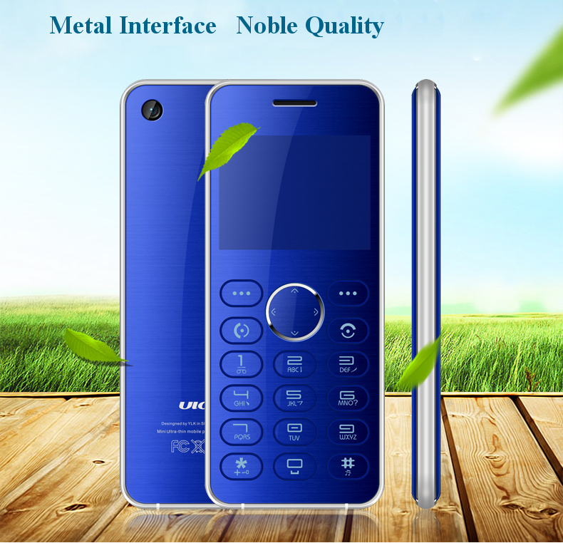 Ulcool V2T 2.0'' 700mAh Metal Body bluetooth Dialer Remote Control FM MP3 Dual SIM Mini Card Phone