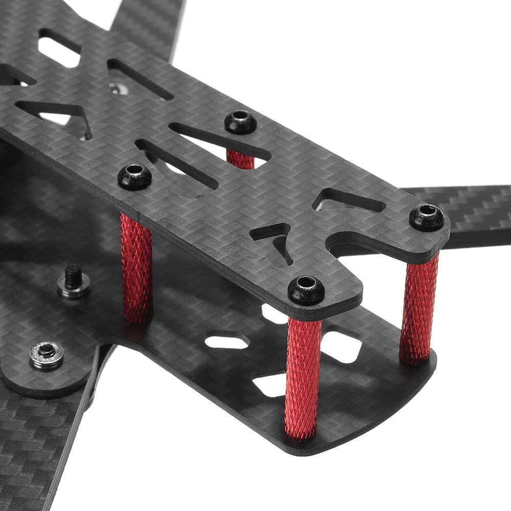 Realacc Martian IV 7 Inch 300mm Wheelbase 4mm Arm Carbon Fiber FPV Racing Frame Kit