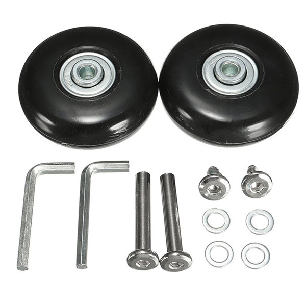OD 55mm Luggage Suitcase Replacement Wheels Axles and R