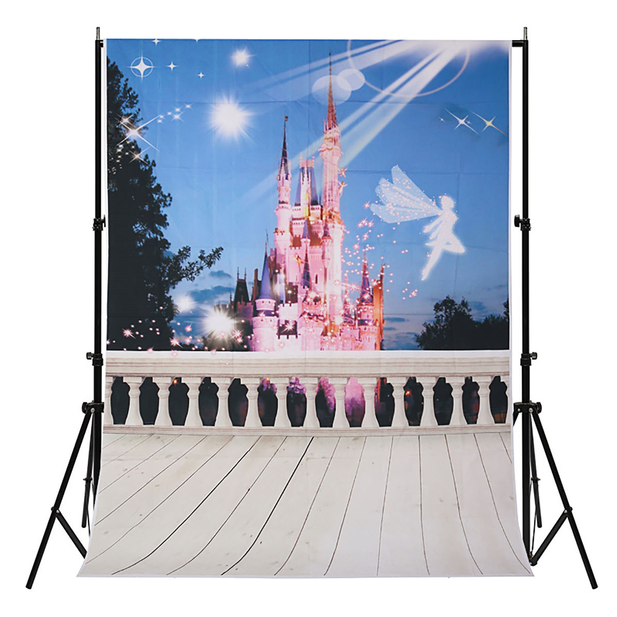 5X7FT Portray Dream Fairy Tale Castle Backdrop Photography Prop Studio Background