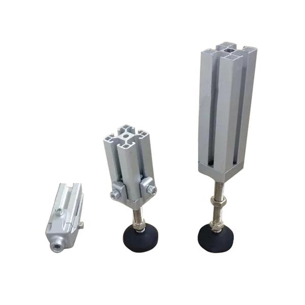 Machifit Aluminum Profile Fixed Bracket Foot Connector with Nut and Screw for 3030 Aluminum Profile