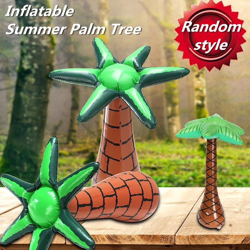 Inflatable Coconut Tree Beach Swimming Pool Toys Summer Decoration 60cm