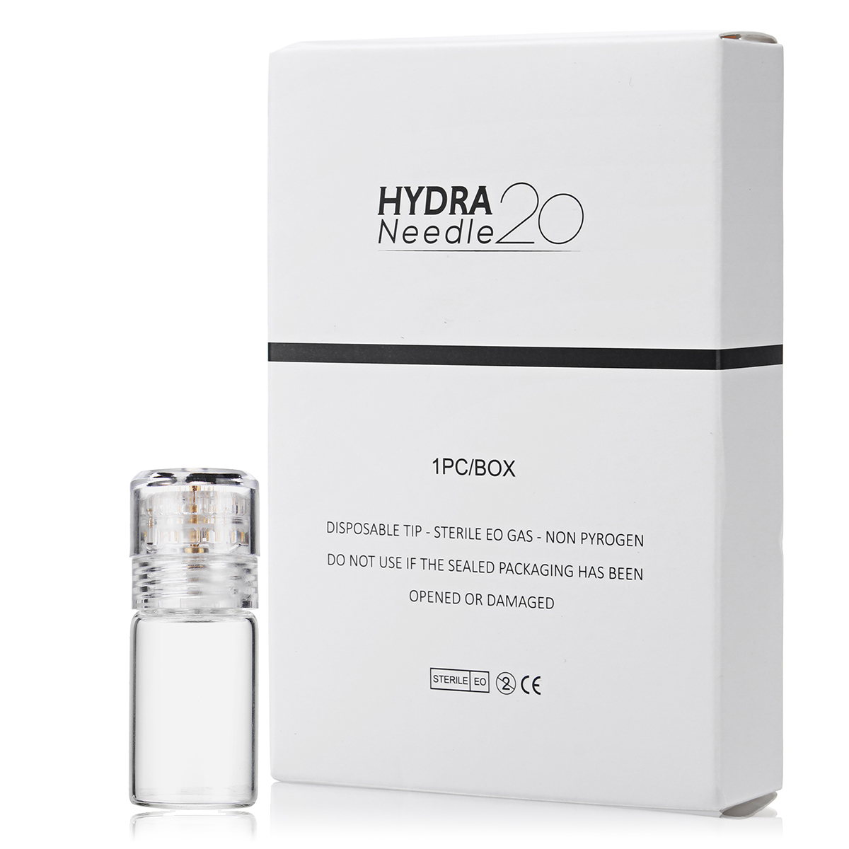Hydra 20 Titanium Microneedle Applicator Bottle