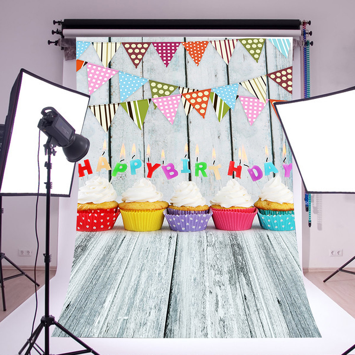 3x5FT Birthday Party Photography Backdrop Photo Studio Background