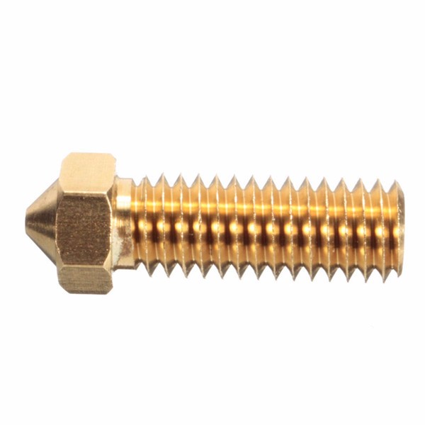 4 Size Brass Nozzle 3.0mm/1.75mm ABS/PLA Filament Extruder Nozzle For 3D Printer