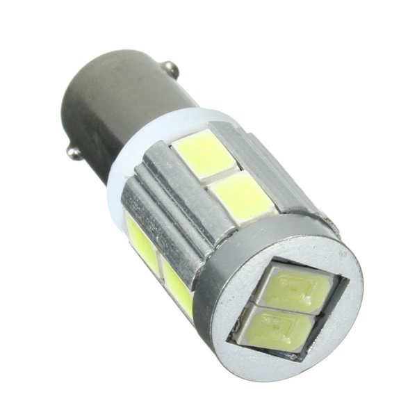 Pair White BAX9S 150° H6W 10SMD Side Light Bulbs Canbus Error For BMW 3 Series F30 F31
