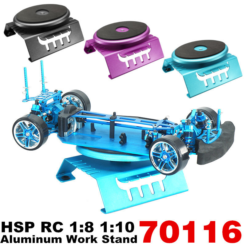 1PCS Aluminum Works Stand Model For HSP 70116 RC 1/8 1/10 Bigfoot Truck Buggy On-Road Car Parts