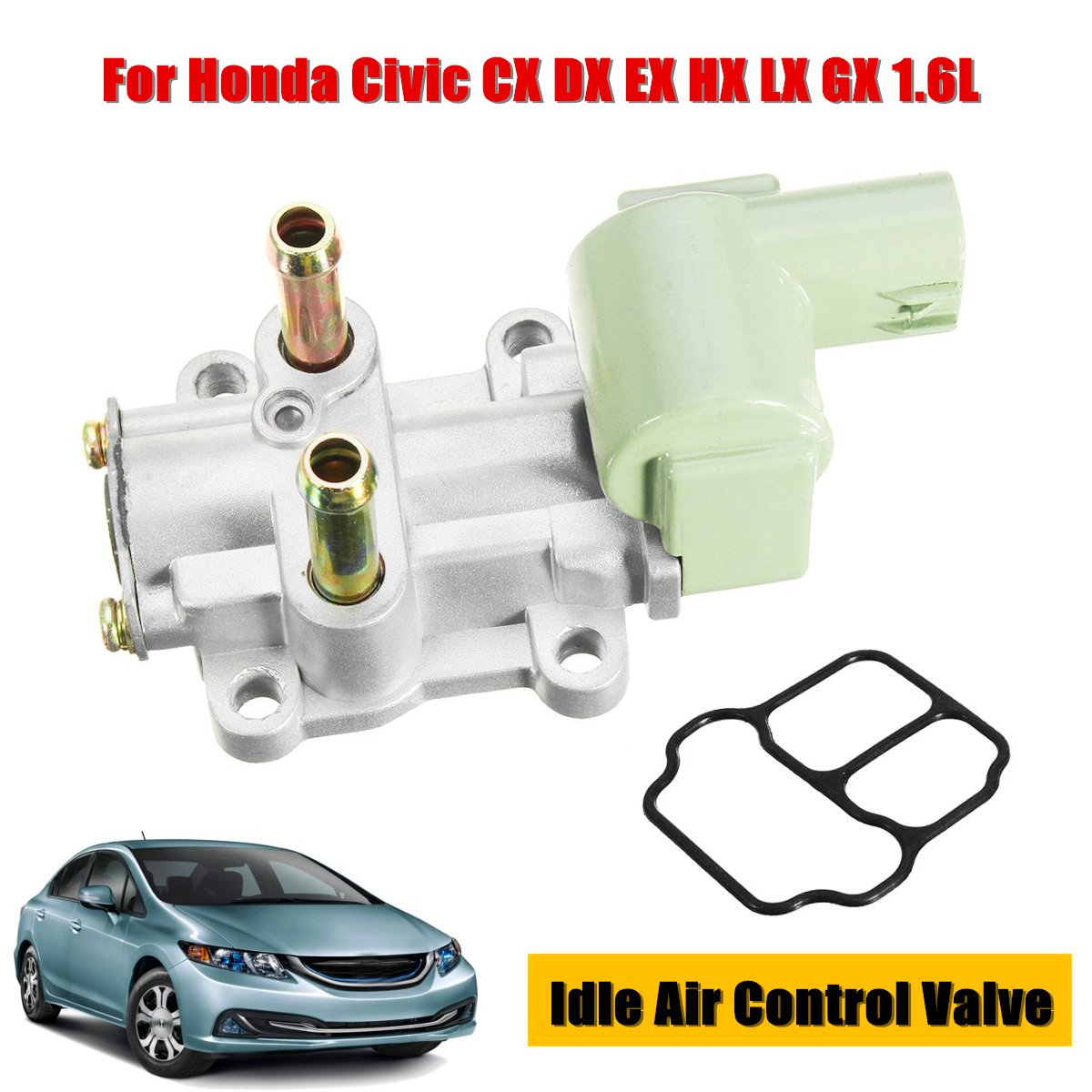 Idle Air Control Valve IACV IAC For Honda Civic CX DX EX HX LX GX 1.6L SOHC