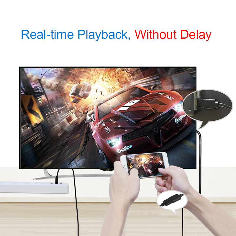 ONTEN 1080P HDTV High Definition Multimedia Interface Digital AV Cable Converter For IOS Android