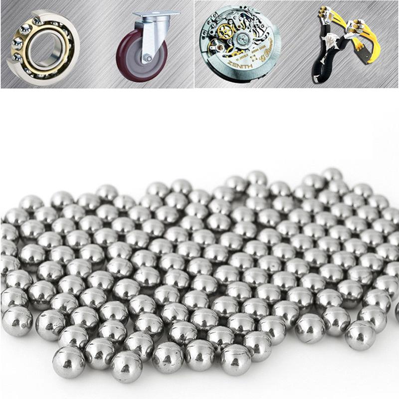 KALOAD 100pcs 8mm Steel Balls Professional Steel Ball Bearing Shooting Ammo Bullet Gun Accessories