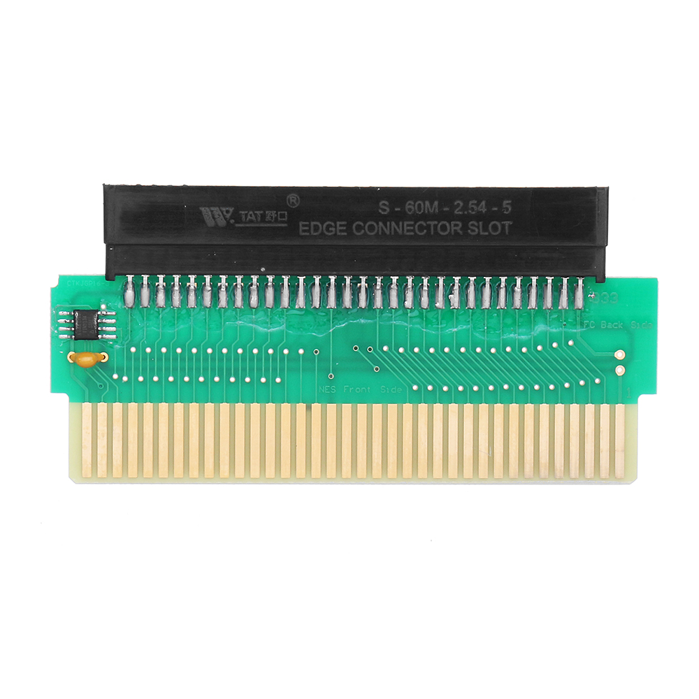 60 Pin to 72 Pin FC to NES Converter Set with NES Cartridge Shell Screwdriver
