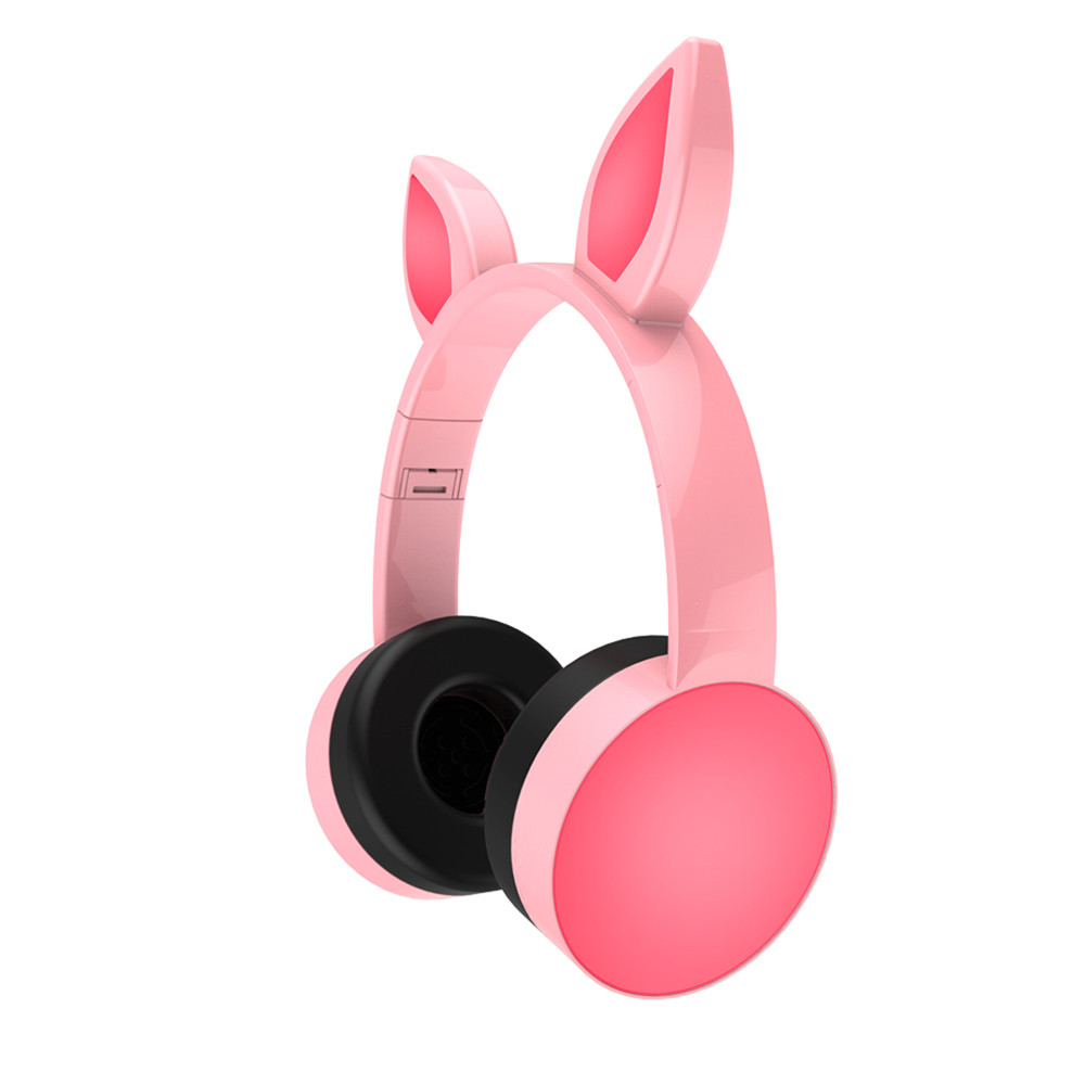 7 Colors bluetooth Cat Ear LED Light Headphone Headset Earphone For Tablet Cellphone
