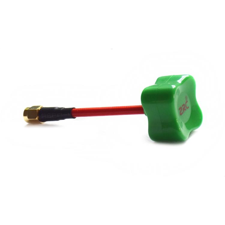 ZRC 80mm RHCP 5.8G 2dBi 4-Leaf Clover Mushroon Omni Directional FPV Antenna SMA/RP-SMA For TX RX