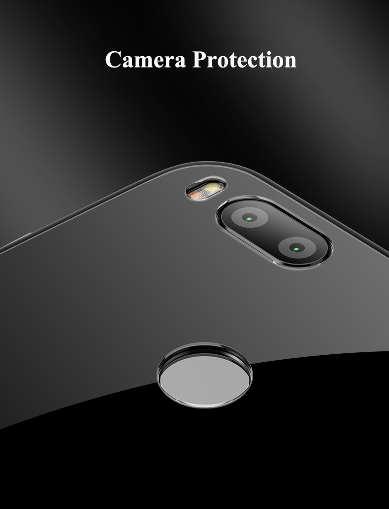 Bakeey™ Tempered Glass Mirror Back Cover Soft TPU Frame Protective Case for Xiaomi Mi A1 / Xiaomi 5X