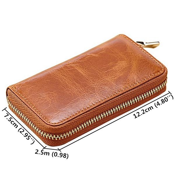 Men And Women Retro Purse Universal Wallet Key Bag Clutch