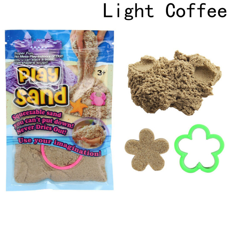 DIY Magic Colorful Motion Play Sand Toy Handmade Clay Dynamic Gift Amazing Indoor Magic Toys