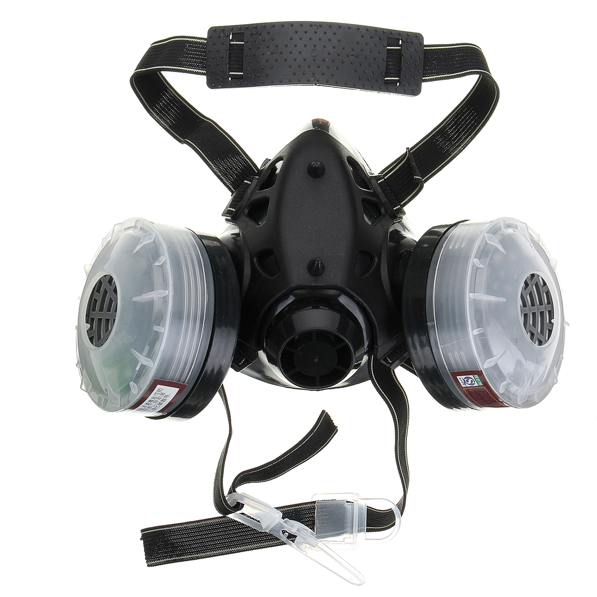 4 in 1 Half Face Gas Mask Spray Painting Dust N95 Mist Fume Chemical Respirator
