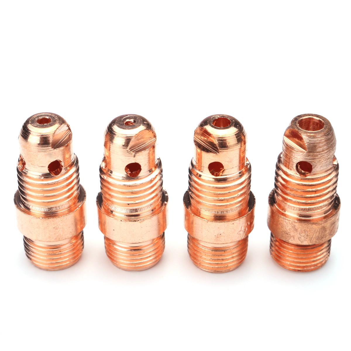 49Pcs TIG Welding Stubby Gas Lens #10 Pyrex Cup Kit for Tig WP-17/18/26 Torch