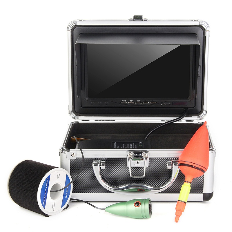 50M 7'' LCD Screen Under Water Fish Finder HD Camera Mo