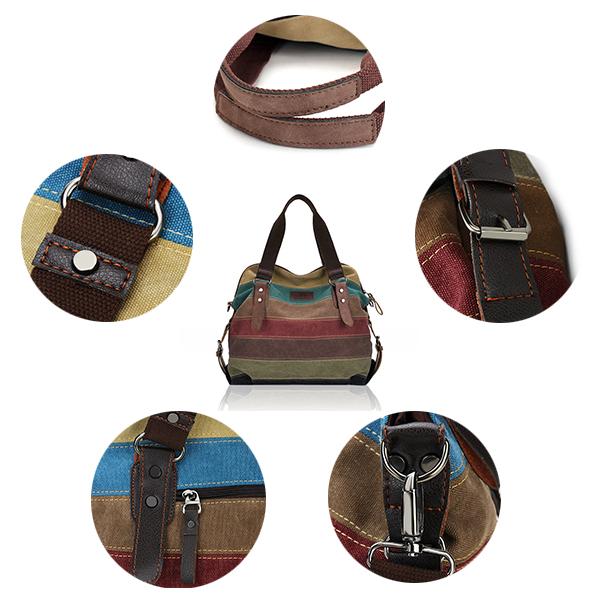 2a2651e90 bolsa na transversal feminina casual alça de canvas bolsa de mão de ...