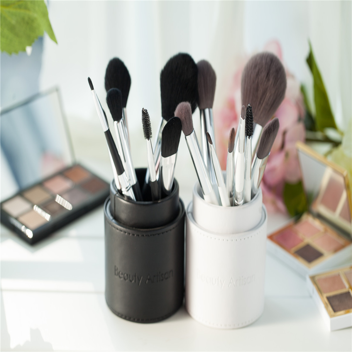 8Pcs Makeup Brushes Set Mixed Colors